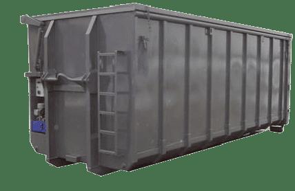 Abroll kontejner s hydraulickou střechou