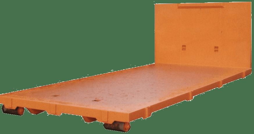 Abroll kontejner-plošina-základní