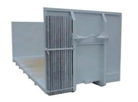 Kontejnery Abroll – Prostor s nástrčnými klanicemi