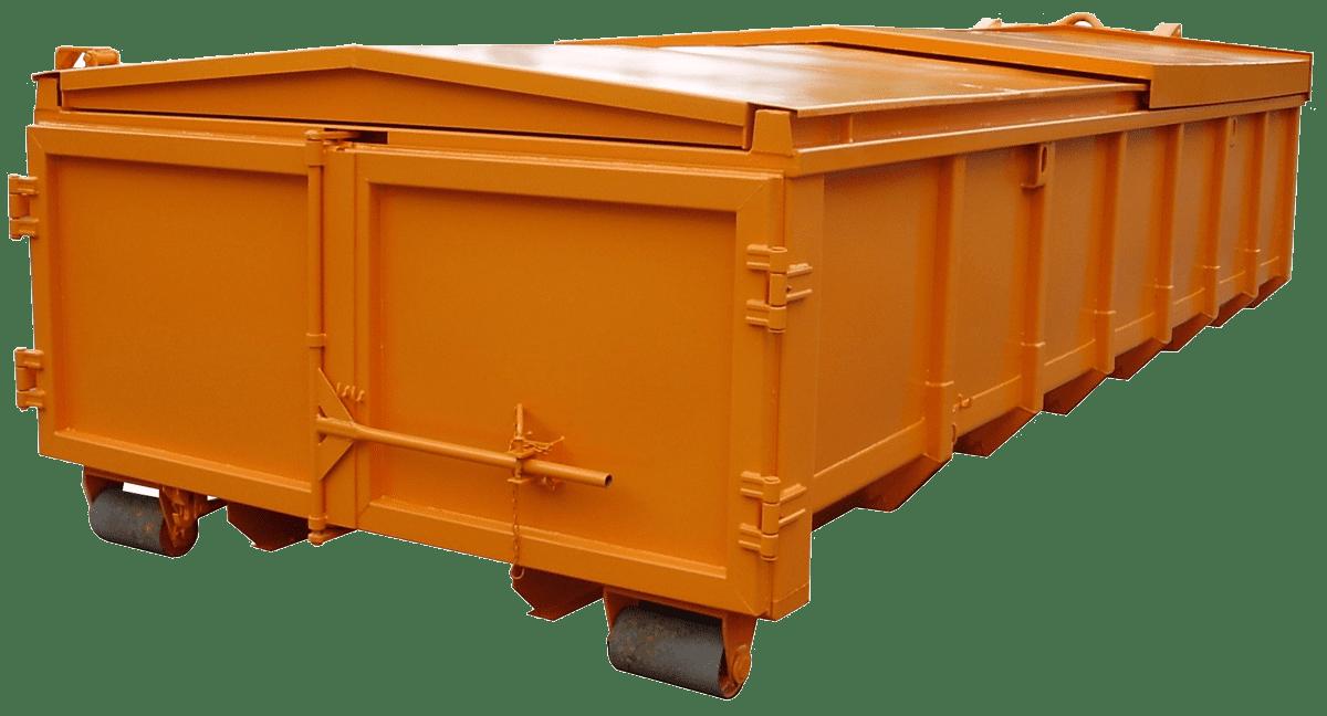 Abroll kontejner-posuvná střecha