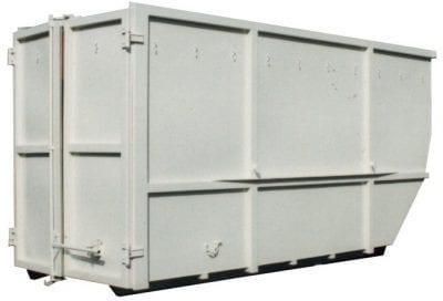Vanové kontejnery s křídlovými vraty – otevřené