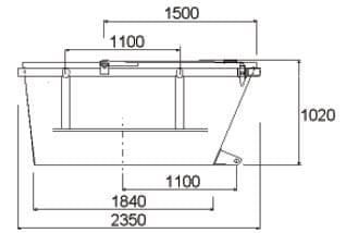 geschlossene-symmetrische-ausfuehrung-hochgezogenen-schuettseiten-mit-zwei-stahldeckeln-table1